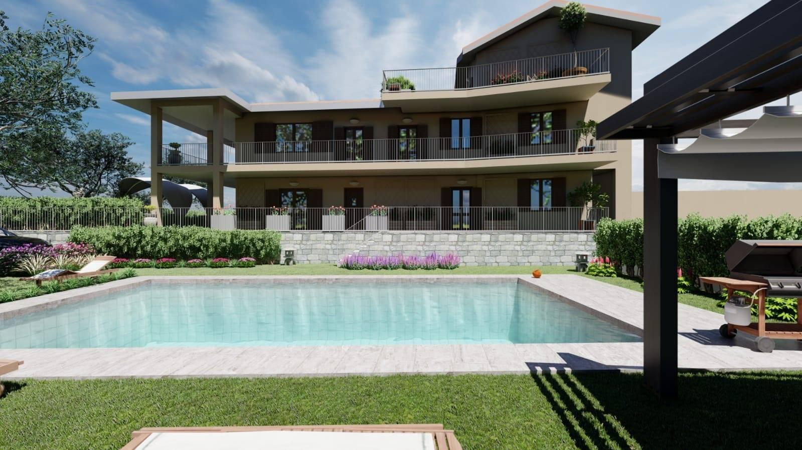 Appartamento in vendita a Soiano del Lago, 2 locali, zona Zona: Chizzoline, prezzo € 195.000 | CambioCasa.it