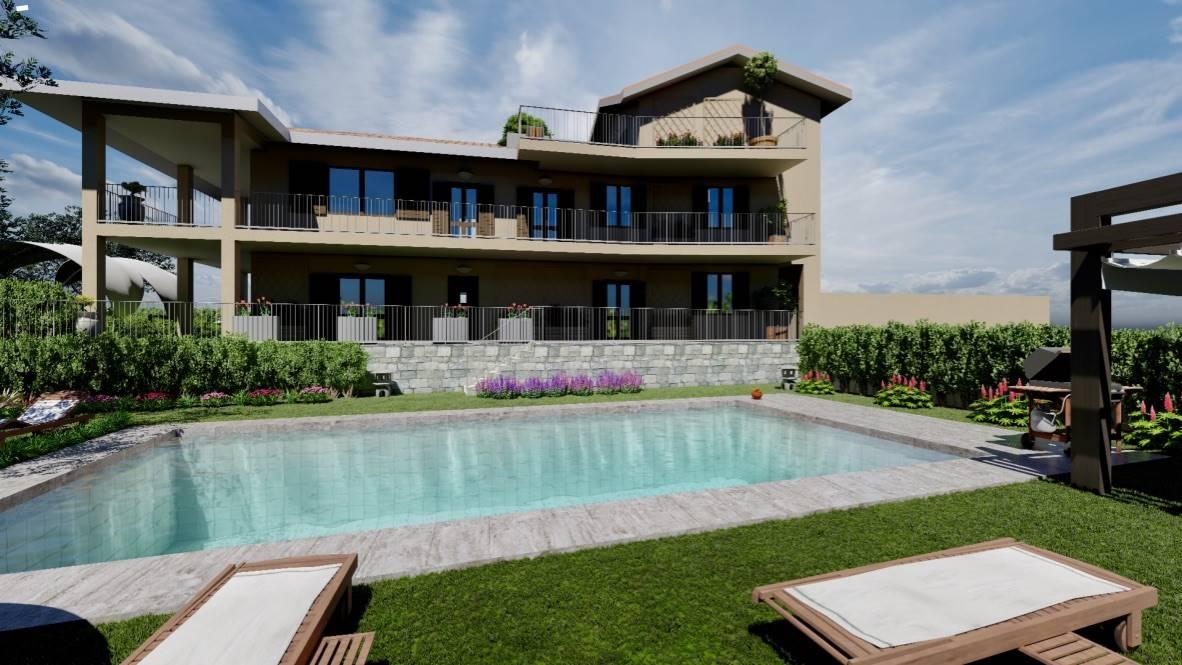 Appartamento in vendita a Soiano del Lago, 4 locali, zona Zona: Chizzoline, prezzo € 330.000 | CambioCasa.it
