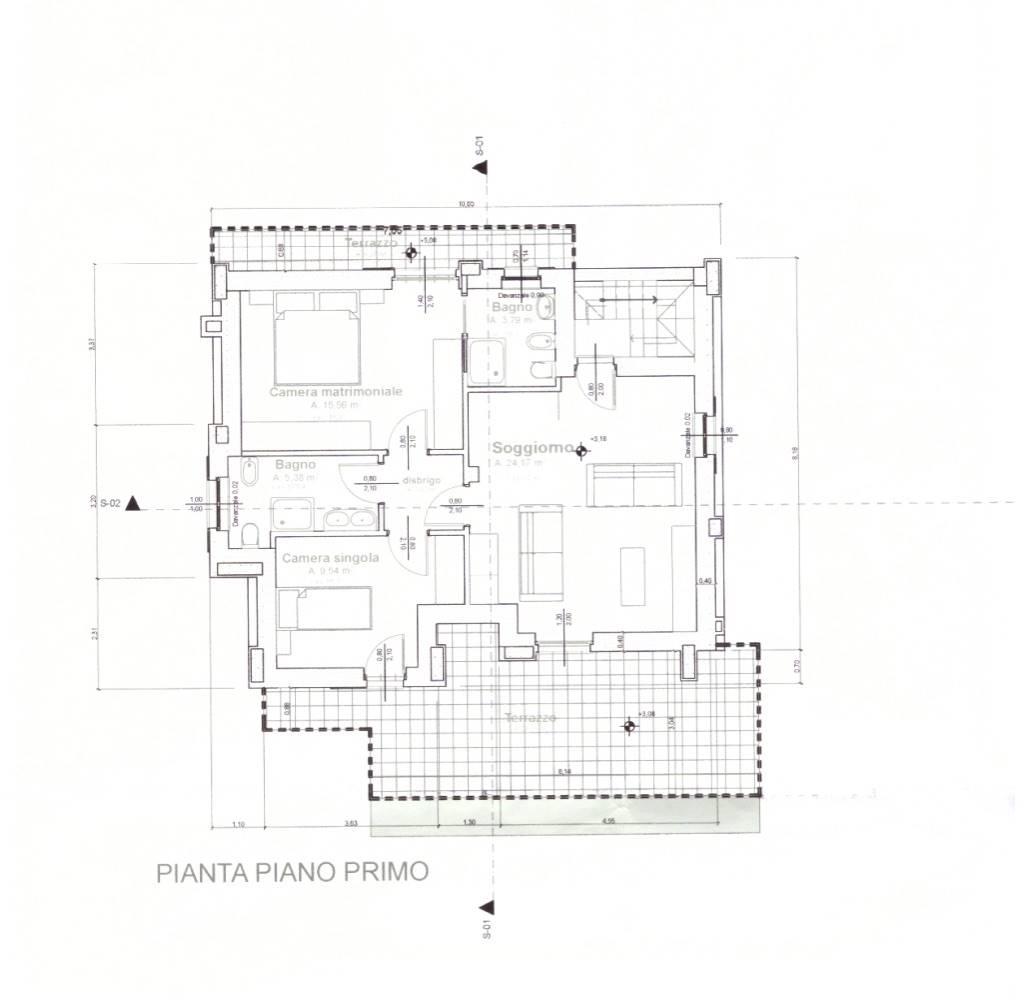 Planimetria primo piano