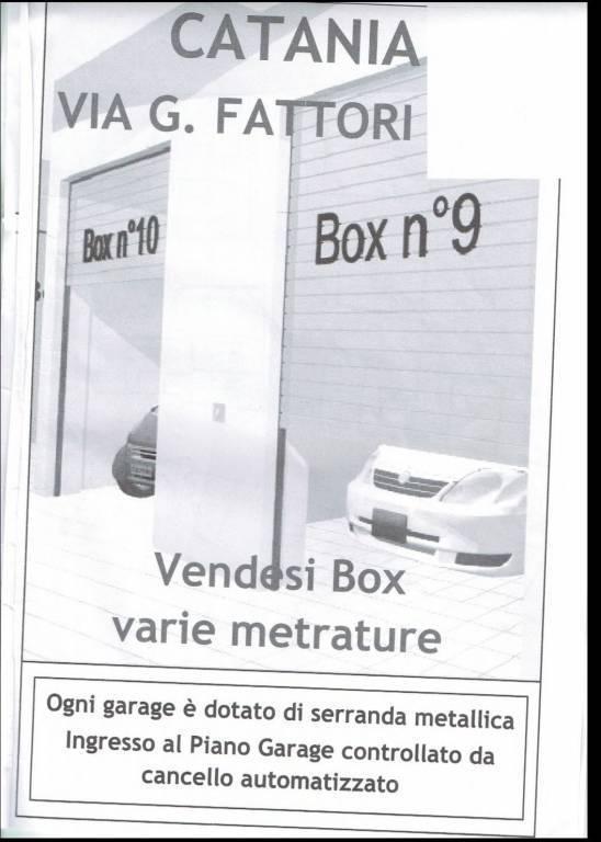Garage / Posto auto in Via Giovanni Fattori, 50, Catania