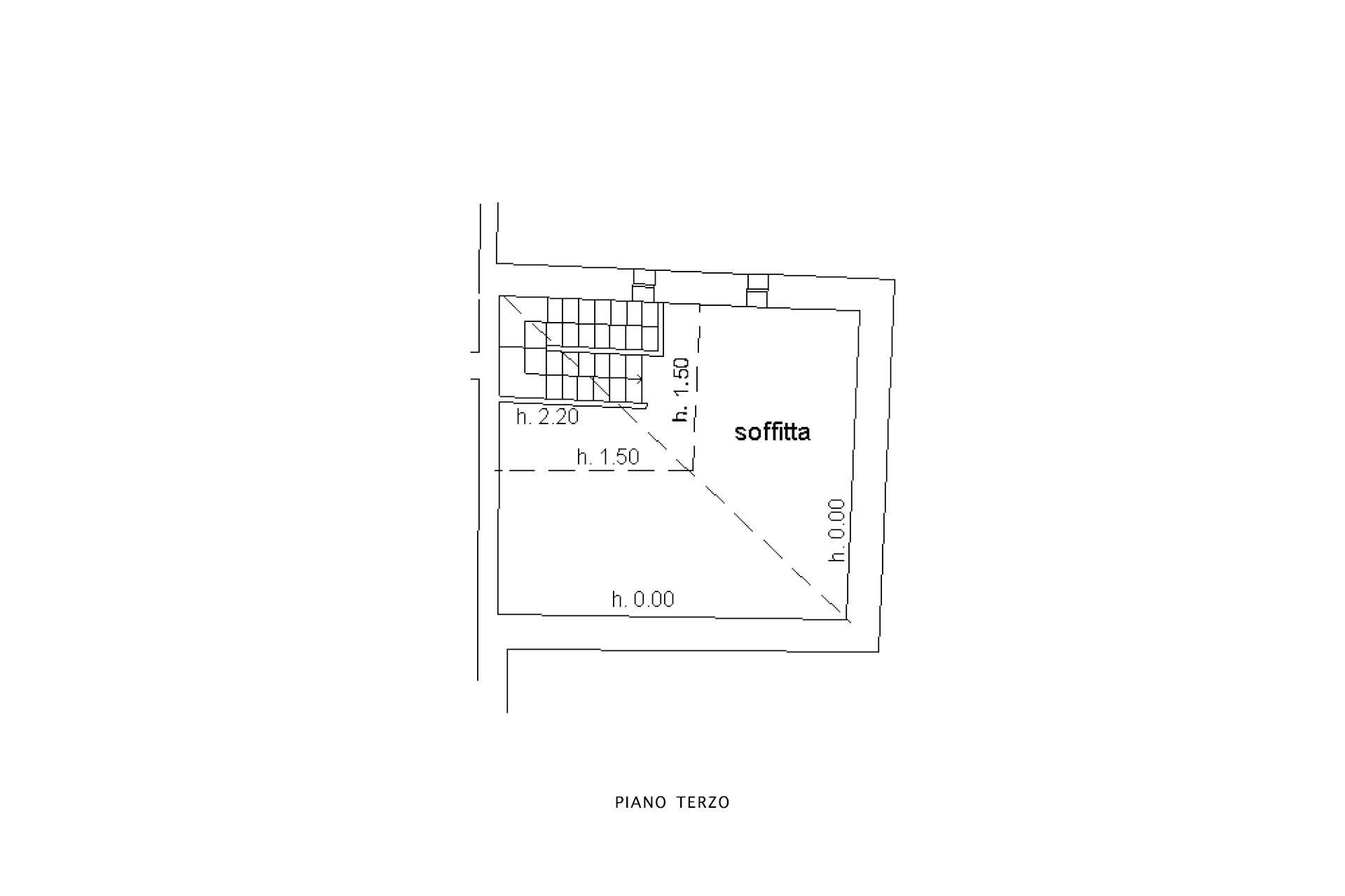 Planimetria soffitta