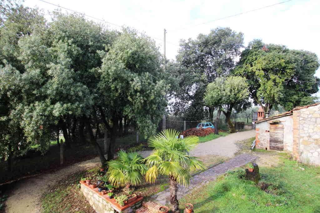 vista giardino ingresso