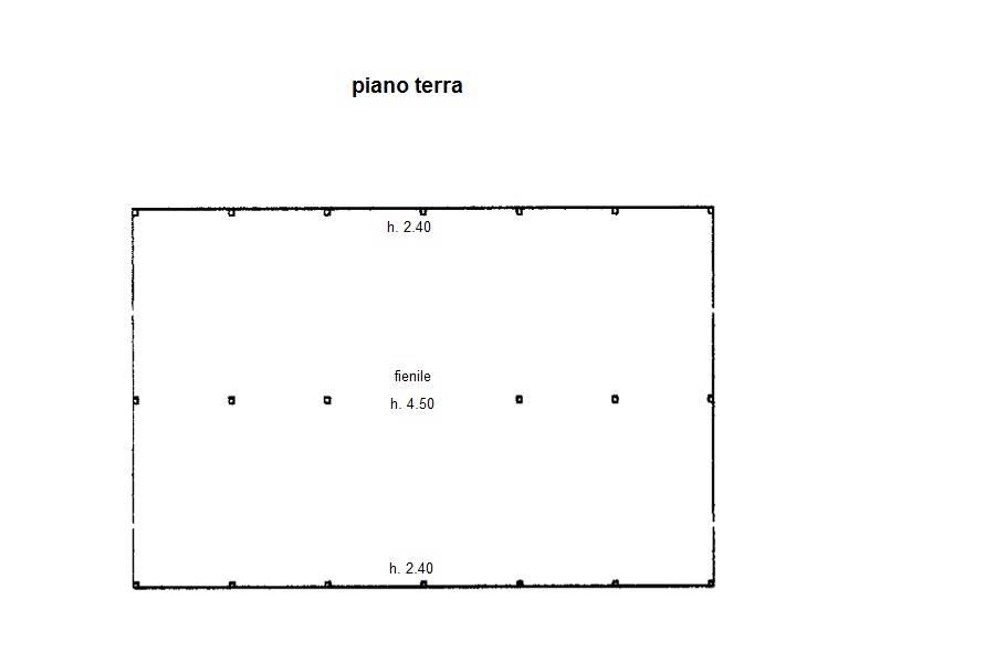planimetria fienile