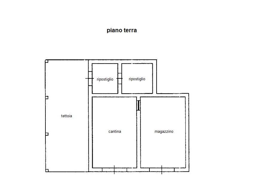 planimetria capanna
