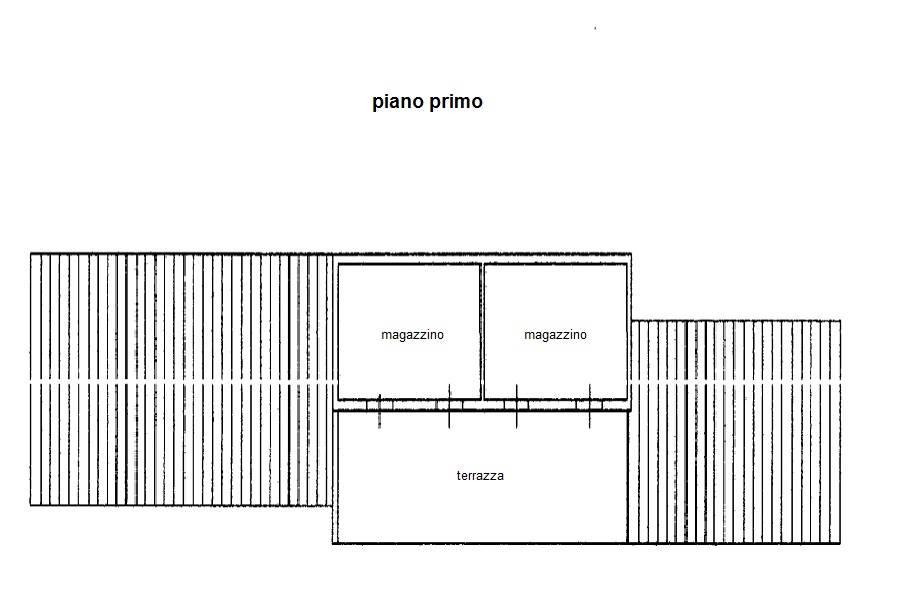 planimetria piano 1° annesso