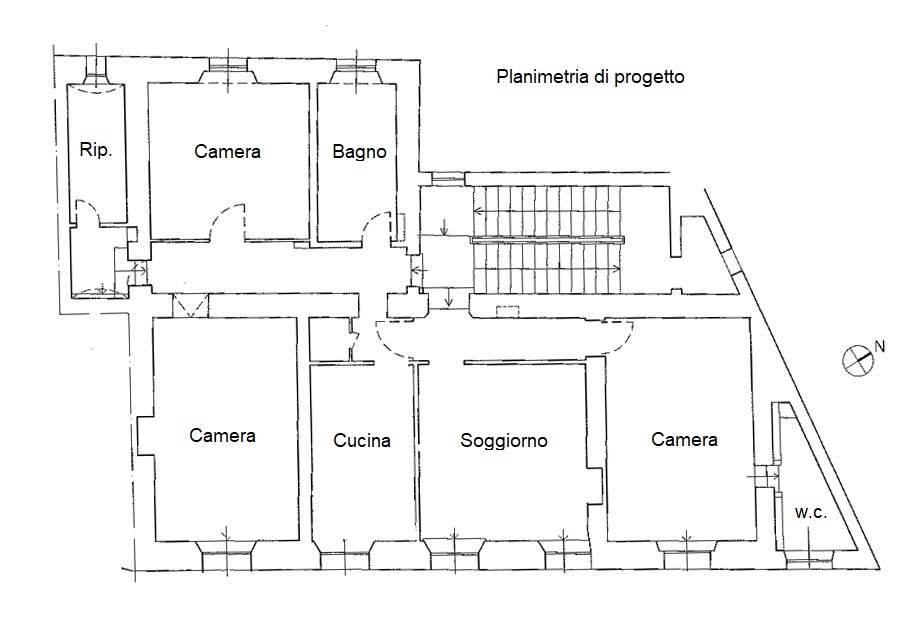 planimetria di progetto
