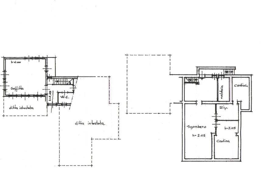 Planimetria mansarda e 1S