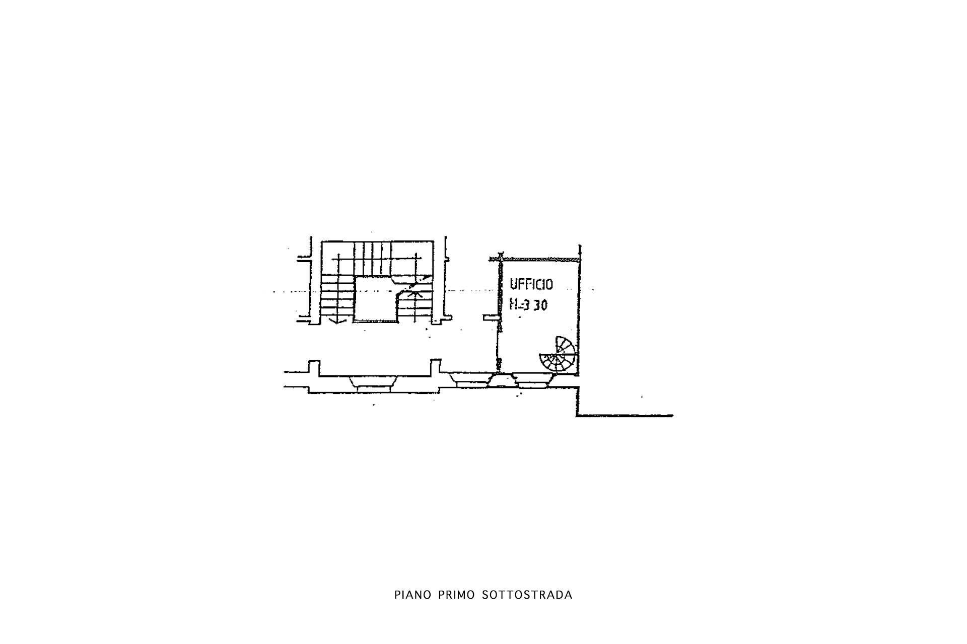 Planimetria piano 1S