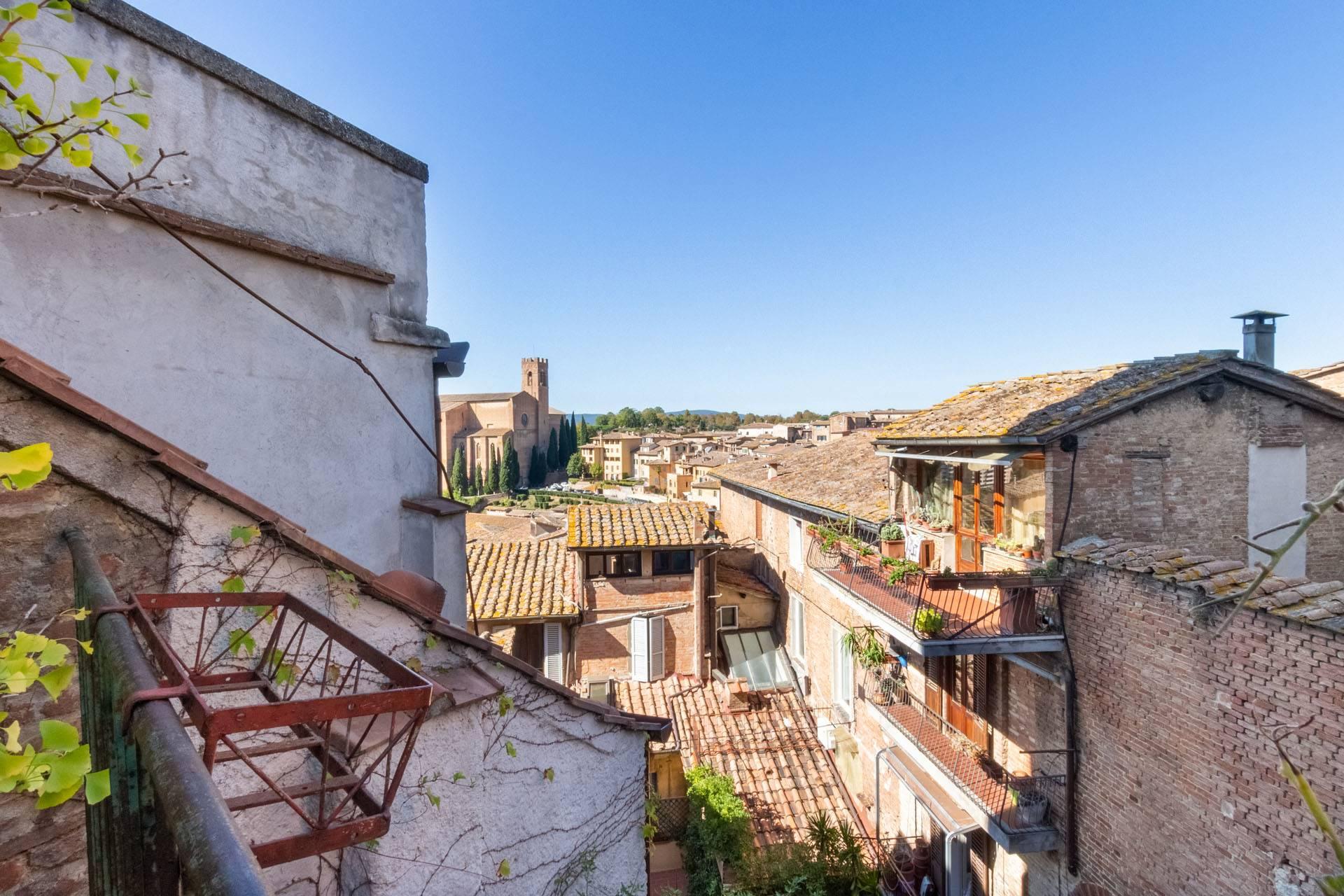 panorama balcone mansarda