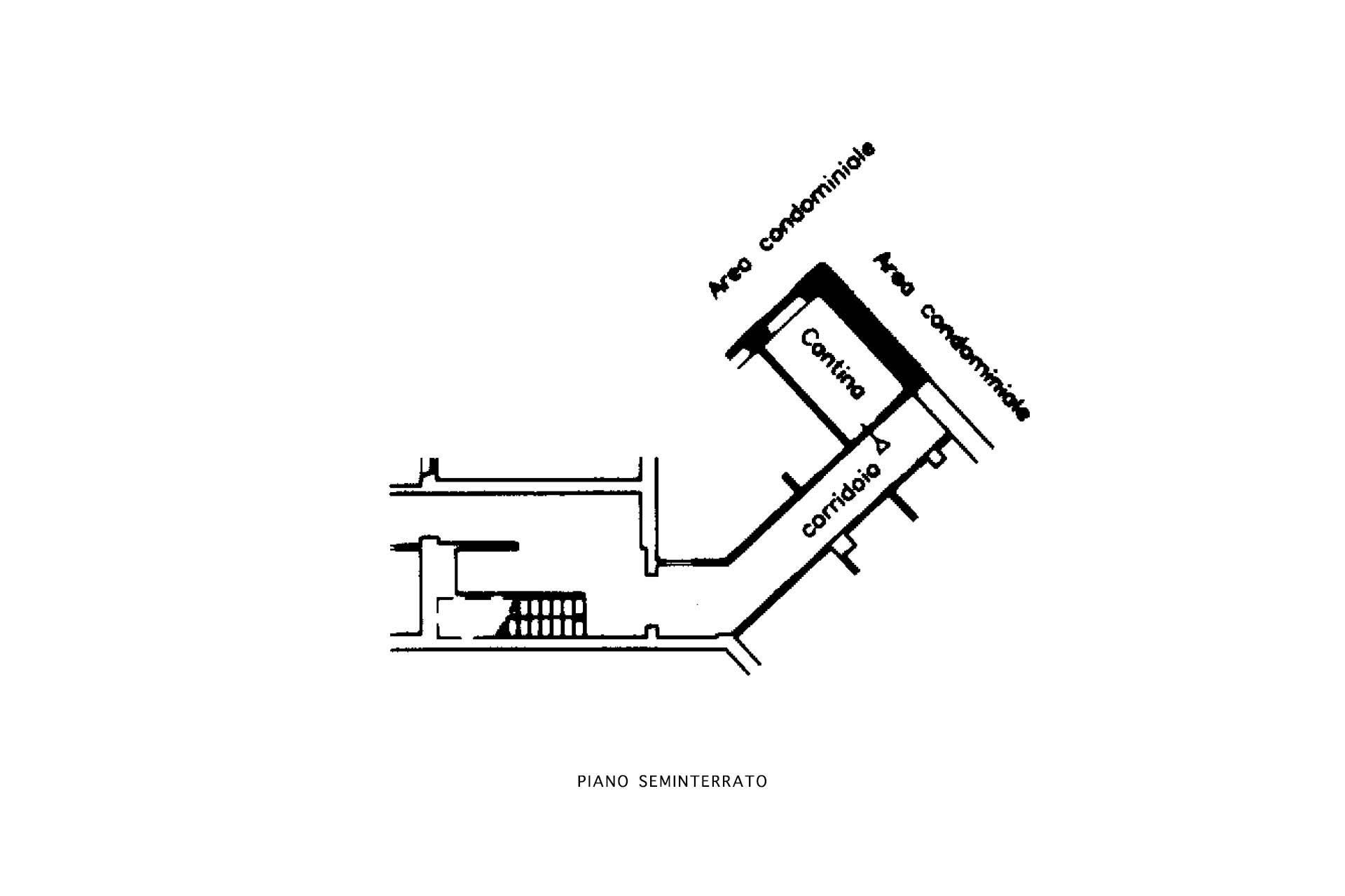 Planimetria magazzino/cantina