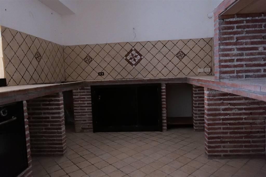 particolare cucina in muratura