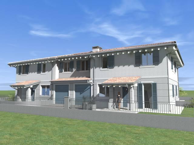 Casa semi indipendente, Medolla, in nuova costruzione