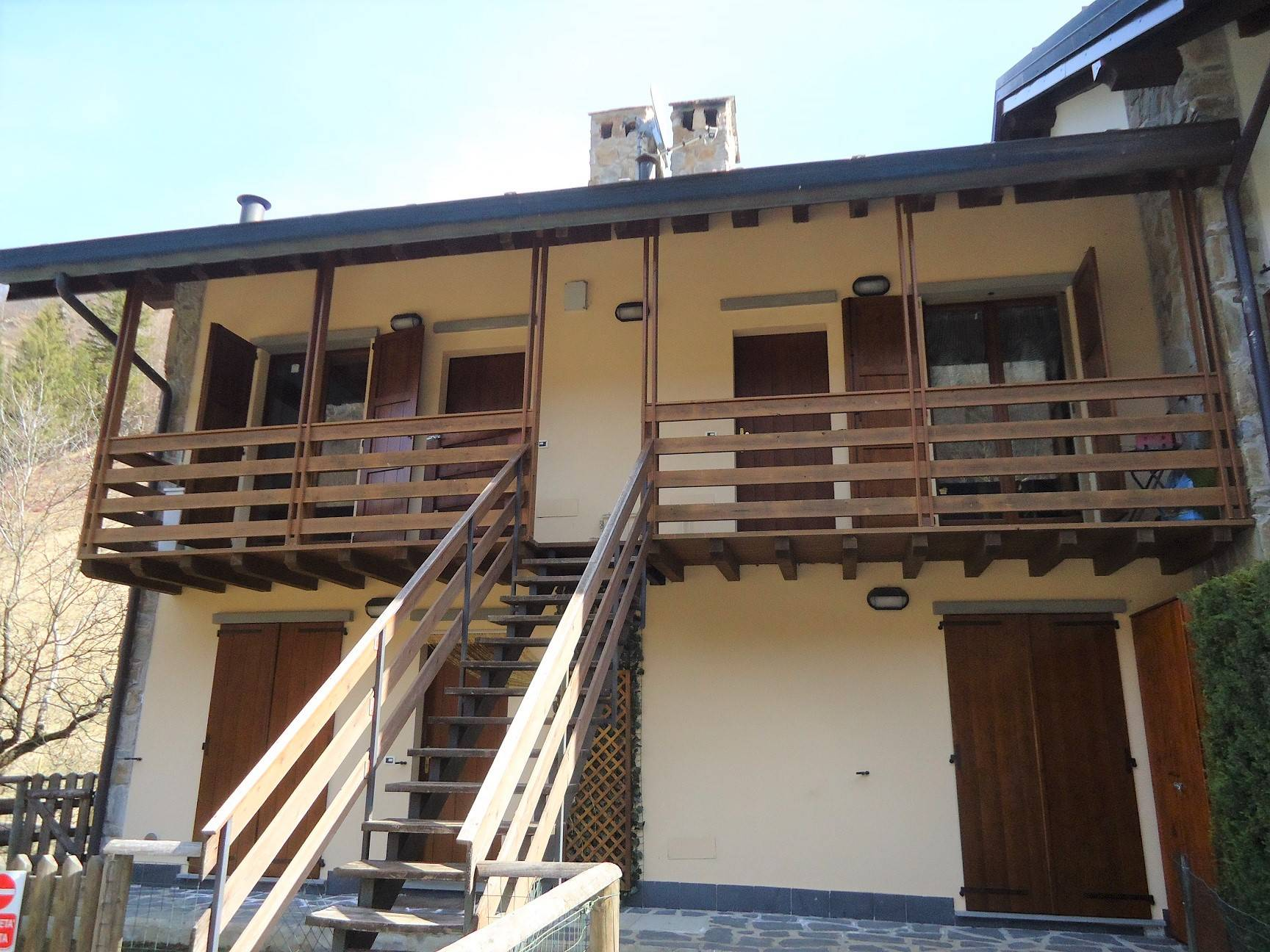 CASSIGLIO, Apartment for sale of 60 Sq. mt., Almost new, Heating Individual heating system, Energetic class: D, Epi: 76,97 kwh/m2 year, placed at 1°,