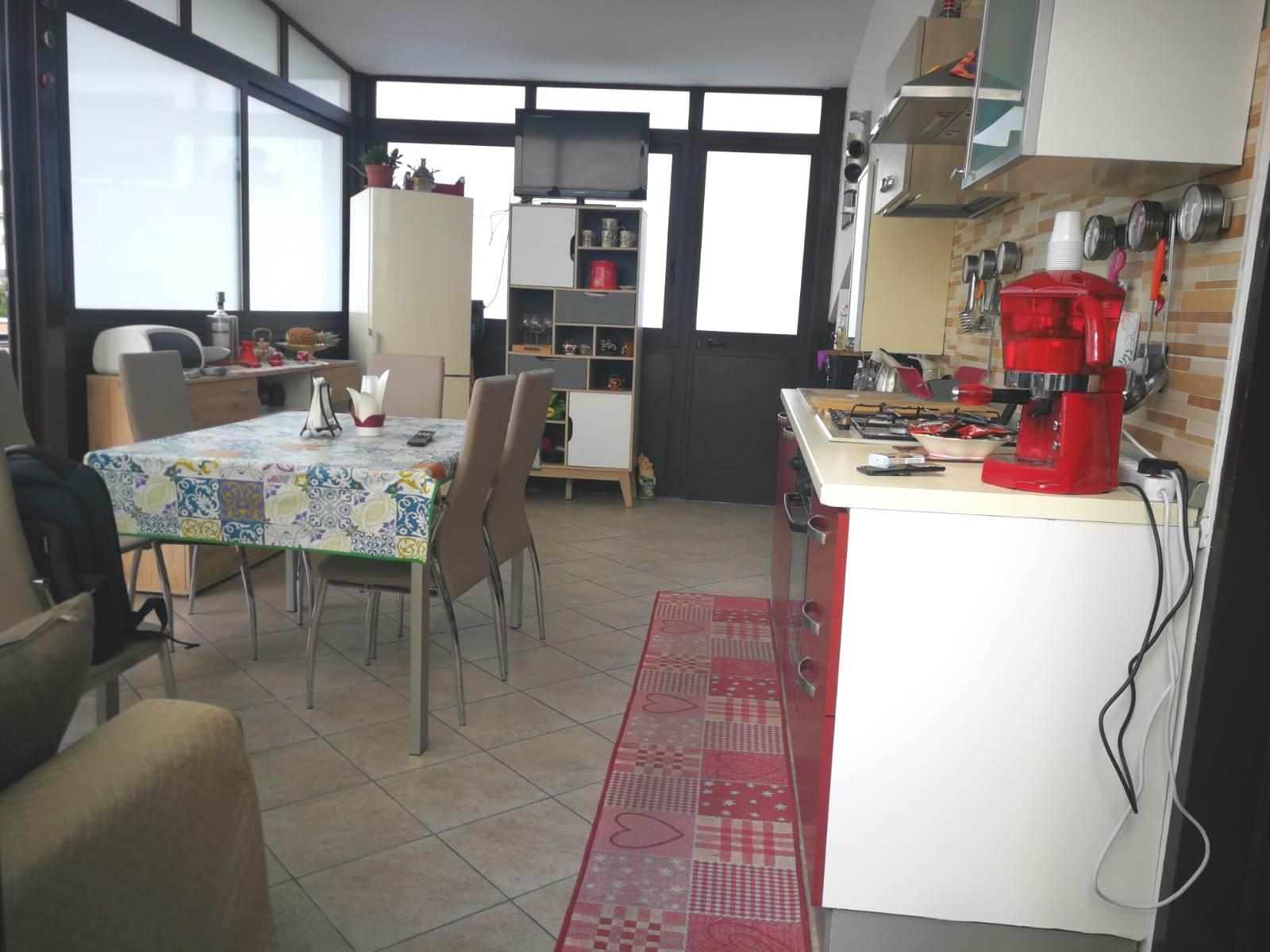 Cucina in veranda
