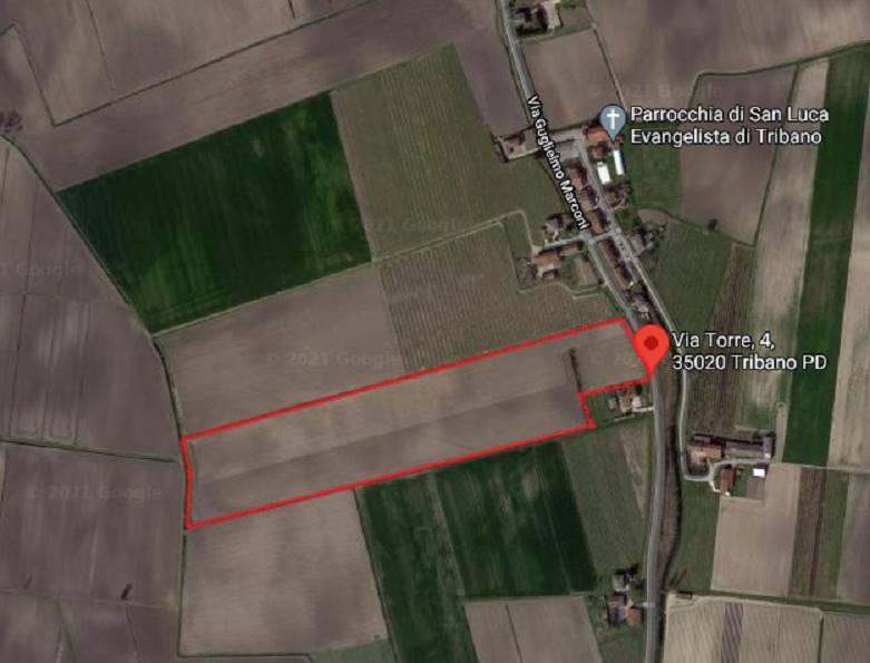 Terreno Agricolo in vendita a Tribano, 9999 locali, zona Zona: San Luca, prezzo € 267.000   CambioCasa.it