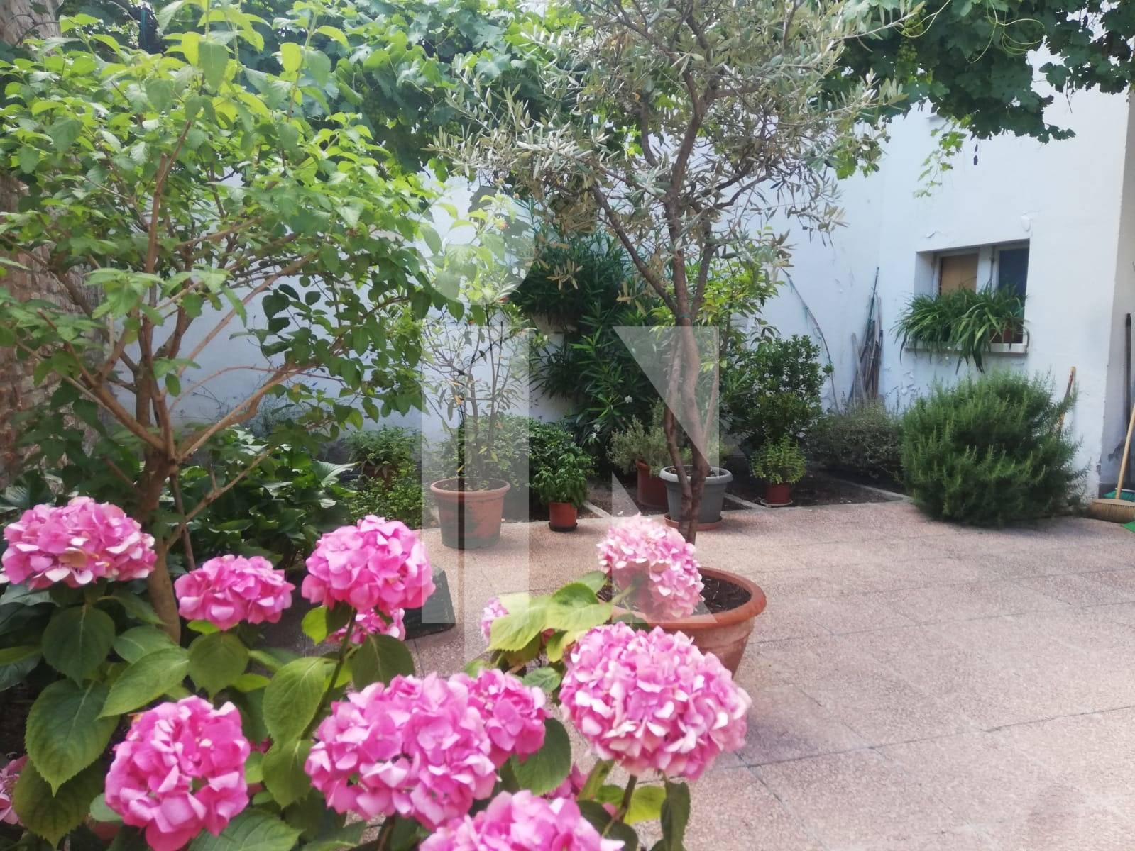 Ampio bilocale con giardino e garage
