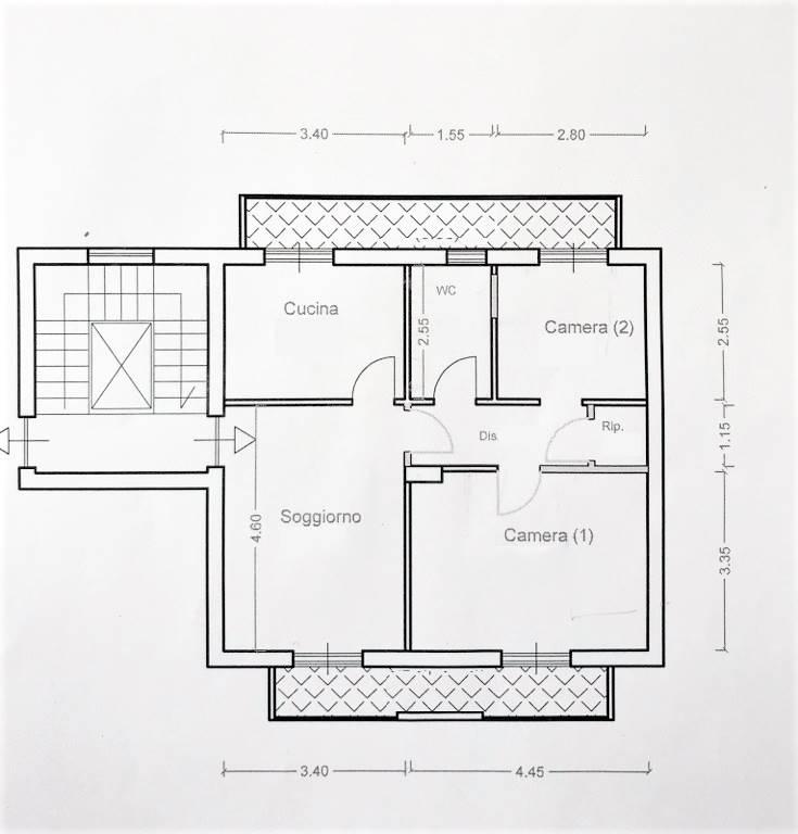 Sbarre Centrali appartamento in affitto 168C