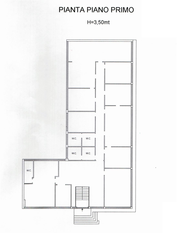 Ufficio A10 mq 450 planimetria