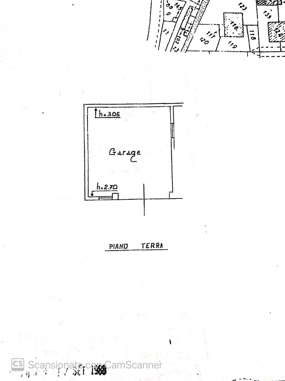 pianta garage
