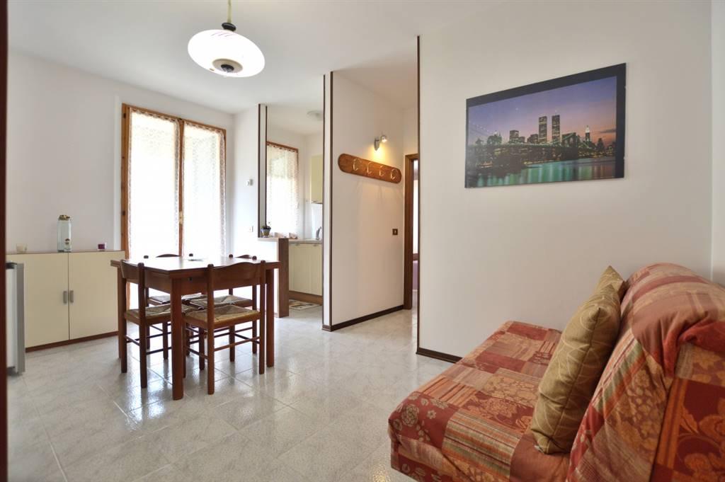 Ponte a Tressa, in piacevole contesto residenziale , proponiamo appartamento bilocale posto al piano primo di una palazzina in mattoni faccia vista così composto: ingresso, soggiorno con affaccio