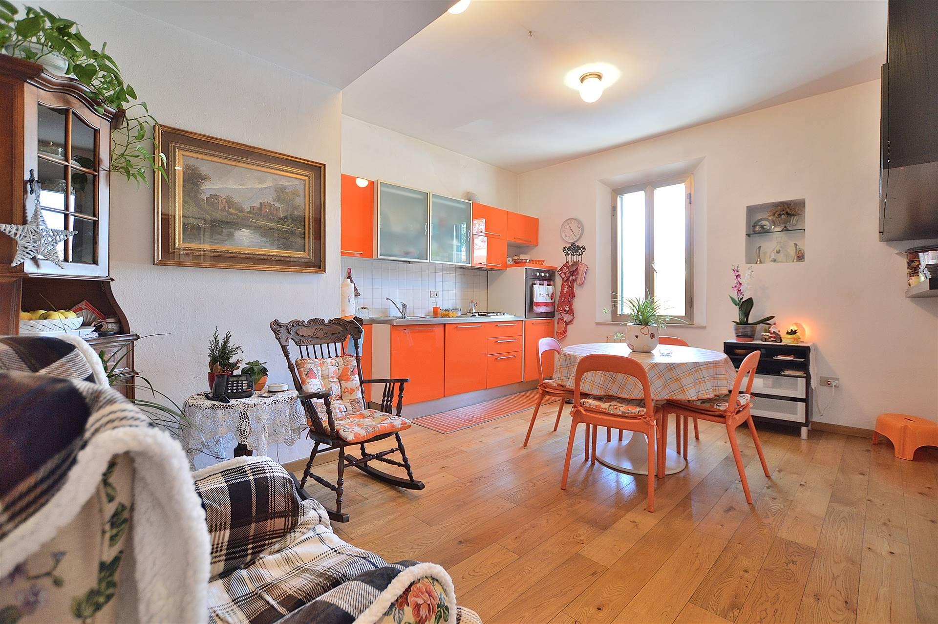 More di Cuna, in piccola palazzina in posizione centrale, proponiamo appartamento posto al piano primo così composto: ingresso, grande e luminoso