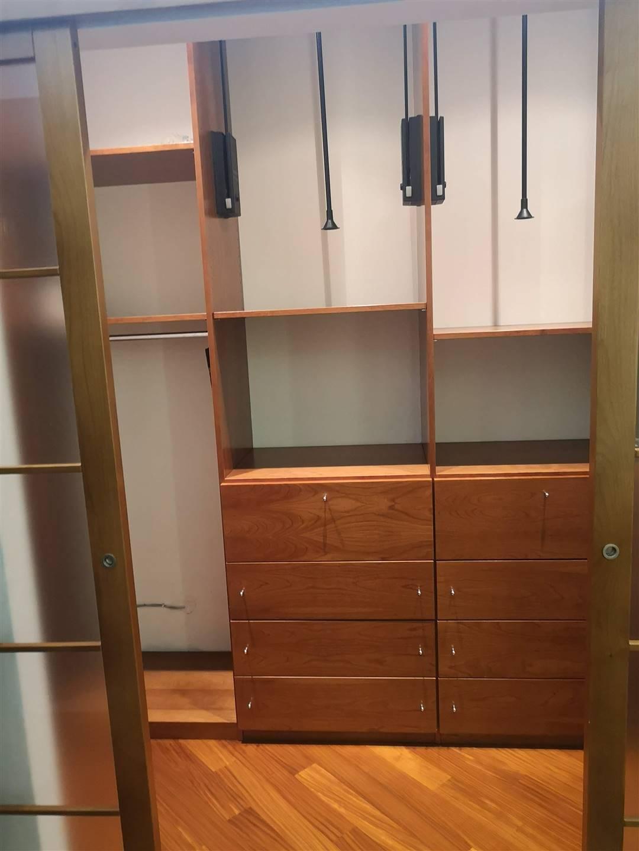 dettaglio cabina armadio