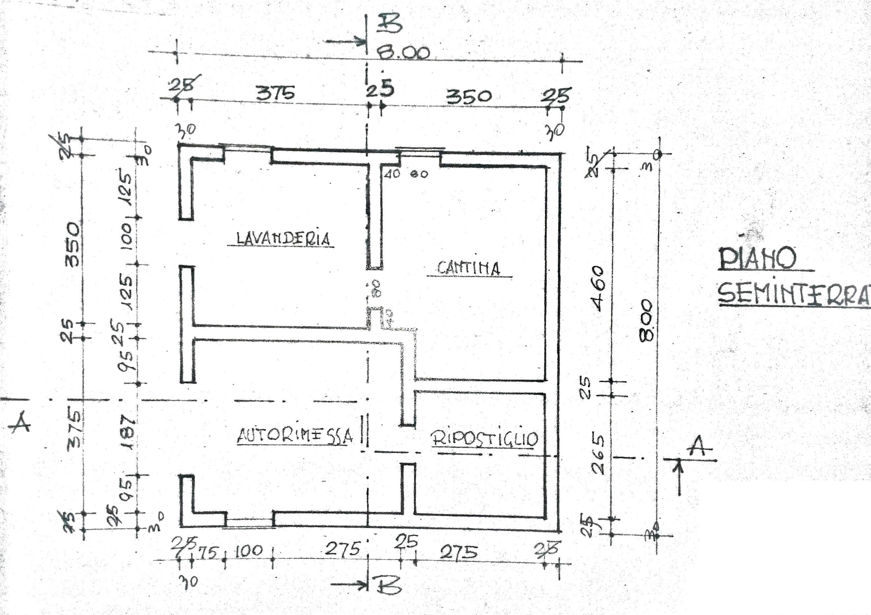 Casa singola in vendita a frassinoro modena rif am 5844 for Planimetria giardino